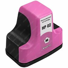 Remanufactured Magenta Ink for HP 02 Photosmart 3310 3210 8250 C7280 Printer