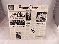 John Yoko Plastic Ono Some Time in NYC Vinyl Original Press 1972 2xLp gatefold