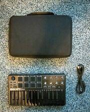 Akai Professional Mpk Mini Mk3 - 25 Key Usb Midi Keyboard (Black)-Preowned
