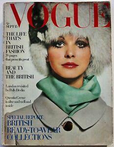 1964 British fashion VOGUE 60s vintage Jean Muir Foale & Tuffin Anthony Price