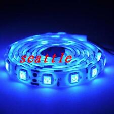 New 5050 SMD Blue 1M 60led IP65 Waterproof LED Strip Light for Cars Bars Boats