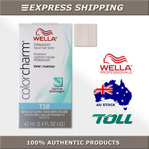 Wella Color Charm Permanent Liquid Toner T10/T11/T14/T15/T18/T27/T28/T35/050