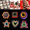 1Set Cookies Cutter Biscuit Fondant Cake Decorating Sugarcraft Mould Mold Tools