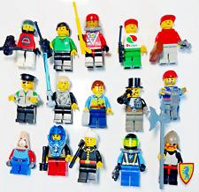 Lego® FIGUREN mit viel ZUBEHÖR City Indianer Piraten Sports Train Starwars Nr.5