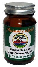 Nature's Gold Klamath Lake Blue Green Algae 500mg 60 Tablets