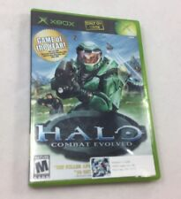 Halo Combat Evolved X Box Game Microsoft Mature 2002 Game of Year Untested