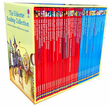 Usborne Young Reading Collection 40 illustrated Books Box Set Read at Home
