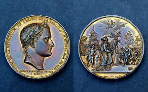 Médaille Retour des cendres de Napoléon 1 aux Invalides. Pourrat frères 1844 Cu.