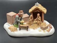 "Department 56 New England Village Series ""Setting Up The Nativity"" #807247"