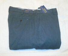 Polo Ralph Lauren Stretch Cotton Blend Charcoal Gray Pant 38 x 34 $125 NWT