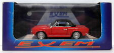 Exem Models 1/43 Scale Diecast EX21A - 1966 Fiat 124 Sport Spyder - Red