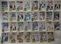 1984 Topps New York Mets Team Set of 31 Baseball Cards