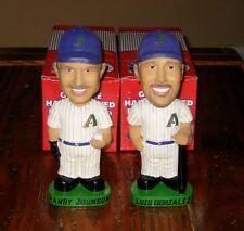 Lot 2 ARIZONA DIAMONDBACKS MLB AGP Bobbleheads Randy Johnson Luis Gonzalez