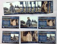 Lot of 14 Sets 2002 Topps Lord of The Rings Return of The Kings P1 P2 Promo Set