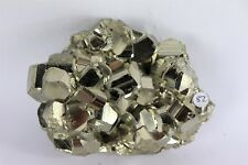 82) Pyrite Crystal Cube Formation Fools Gold Iron Great Gift - High Grade PERU