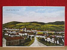 Farbkarte - Langau - gel. ca 1930 ab Geras - Bezirk Horn - Karte vermut. älter !