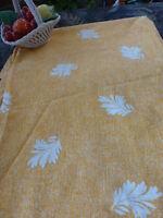 neuf!!pour rideau a pattes jaune  ou récup tissu