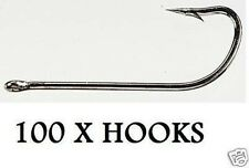 NEW 100 x O'SHAUGHNESSY SEA  HOOKS SIZE 4/0