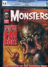 Famous Monsters of Filmland #251 CGC 9.8 NM/MINT Convention Predator Cover
