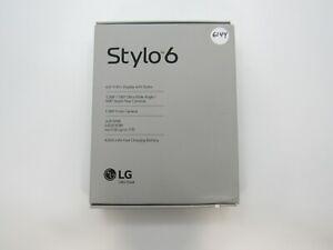 Open Box LG Stylo 6 Q730TM T-Mobile 64GB Clean IMEI NOB 6-6144