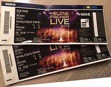 VIP Tickets Helene Fischer Sa 1.9. Mannheim