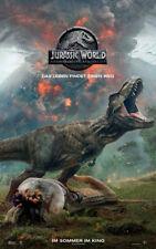 JURASSIC WORLD 2: GEFALLENE KÖNIGREICH - Orig.Kino-Plakat A1-Hauptmotiv- Gerollt