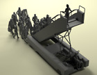 1/144 Set of 26 figures of passengers for civil aircrafts NorthStarModels