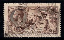 Gran Bretagna 1918-19 SG 414 Usato 100% Giorgio V, 2 s 6 d, Bradbury...