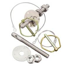 OMP Stainless Steel Bonnet Pins Kit - M10 (Pair) Suitable For Bonnets And Boots