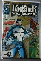 Punisher War Journal #2 1988 Marvel Daredevil JIM LEE homage cover