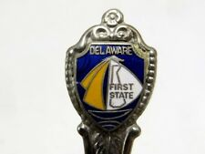 """Vintage Collector Spoon - Delaware - First State - 4.5"""""""