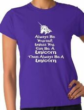 Patternless Unicorn Personalised T-Shirts for Women