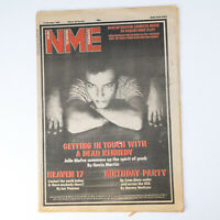 NME magazine 17 October 1981 JELLO BIAFRA cover Heaven 17 U2 B-52s The Plastics