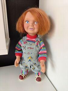 "DELUXE Chucky Puppe Good Guy 38cm 15"" beweglich mit Sound Mezco Toyz"