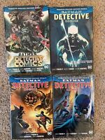 Batman Detective Comics Graphic Novel Lot Hardcover TPB Omnibus vol 1 2 3 4 5 6