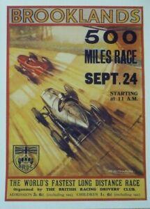 Motor Racing Posters 40cm x 30cm  - Multiple Listing