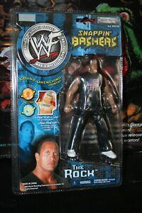 WWE - WWF - Snappin' Bashers - The Rock - JAKKS - NEW!