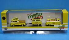 M2 Machines Mello Yello Auto-Haulers 1960 VW DOUBLE CAB & 60' VW MICRO BUS CHASE