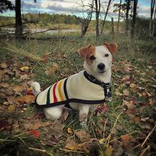 NEW Glacier National Park DOG COAT adjustable handmade of Pendleton Wool fabric
