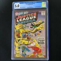 BRAVE and the BOLD #29 (DC 1960) 💥 CGC 5.0 OW-W 💥 2ND APP of JUSTICE LEAGUE!
