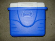 Coleman Cooler Model 6209 Blue with White Lid
