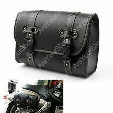 Motorcycle Saddle Tool Bags Saddlebags Luggage For Harley Dyna Street XL883 1200