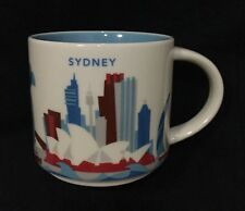 Starbucks Sydney YAH Mug Australia You Are Here Opera Bridge Darling Harbour Eye