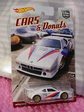 2017 CARS & Donuts BMW M1 PROCAR #4/5☆white;Bilstein;79☆Hot Wheels Car Culture