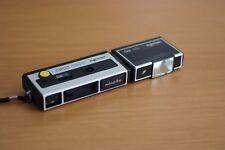 Minolta Pocket Camera 250 and Flash 25 Unit, Retro, Vintage, Made in Japan, Rare
