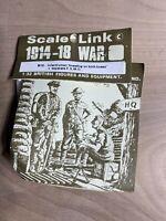 Scale Link 1914-18 War B12 Infantryman Kneeling 1/32 British Lead Soldier