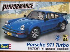 Revell Monogram 1:24 Porsche 911 Turbo Car Model Kit