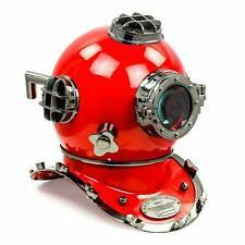 "Antique 18"" U.S Navy Scuba Diving Nautical Helmet Maritime Ship's Decor Gift"