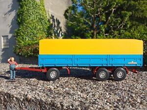 remorque camion truck KÄSSBOHRER 1/50 CURSOR  boite OVP BOX conrad tekno wsi
