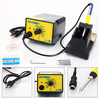 GAOYUE 936 110V SMD Electric Soldering Station Solder Iron Welding Kit W/ 4 Tips